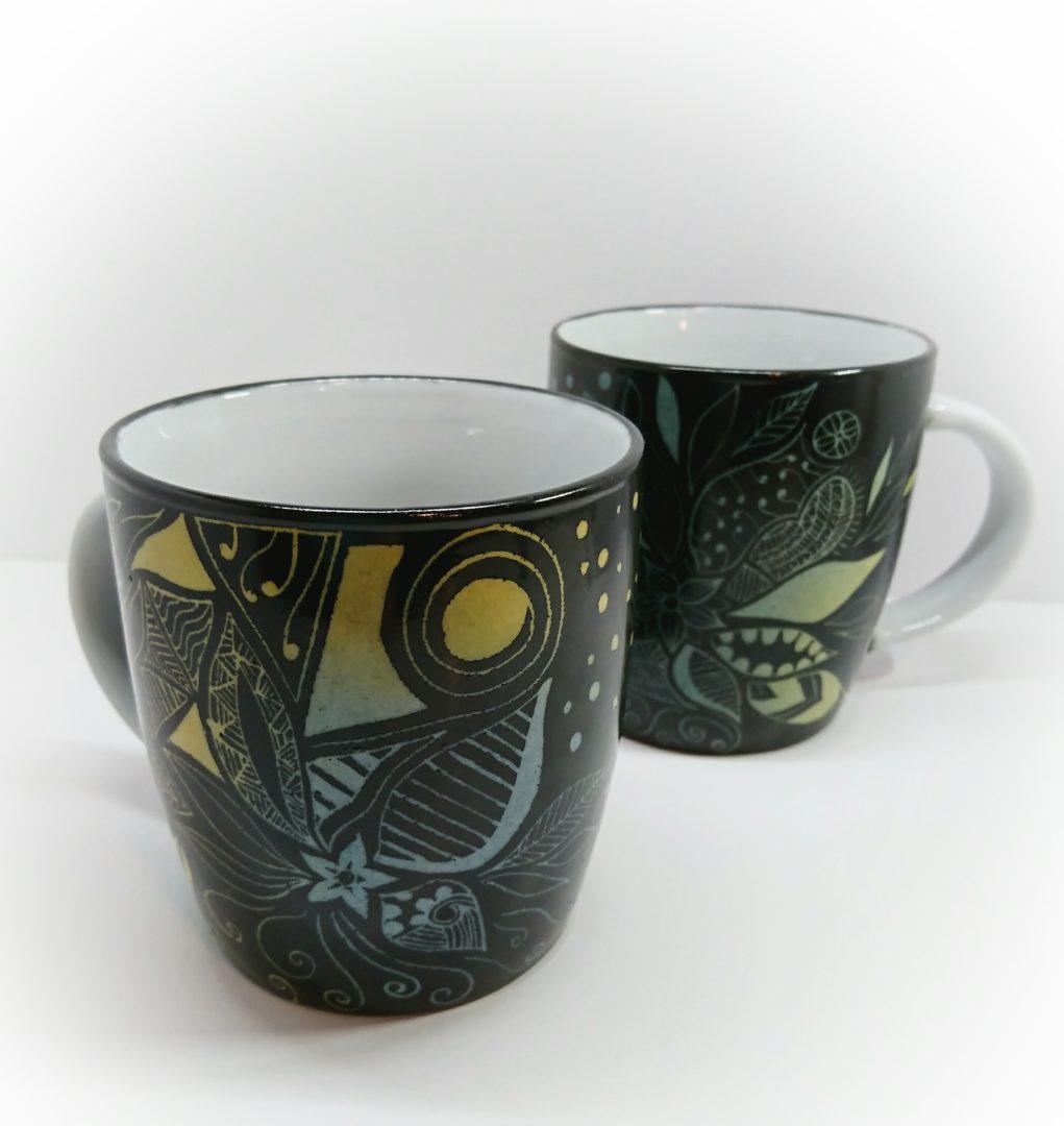 mugs série black