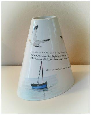 vase carnet de voyage voilier