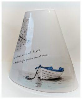 Vase carnet de voyage barque